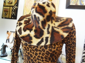 Animal Print Wool Hat & Dress