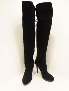 Sam Edelman Black Knee High Boots (Size 7) - $249