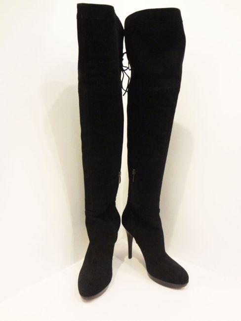 Sam Edelman Black Knee High Boots (Size 7) - $249