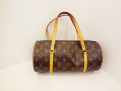 Louis Vuitton Brown/Tan Monogrammed - $499
