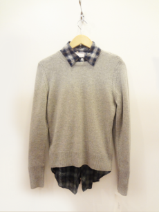 Beth & Bowley Cashmere Sweater - $59 Romeo & Juliet Plaid Shirt - $29