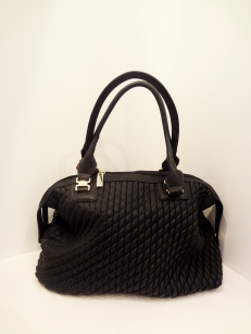 Black Vegan Leather Handbag - $49.00