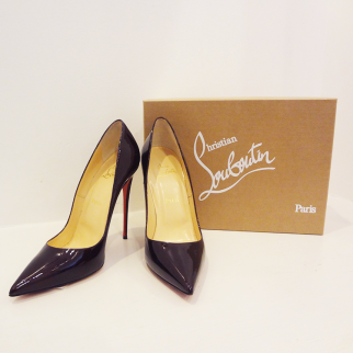 Plum Louboutin Heels - $599.99