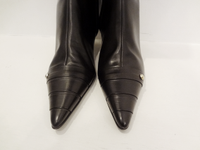 Leather (Brand New) Chanel Boots - $499