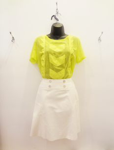 Do&Be Top(M) - $29, Karen Millen Skirt - $69