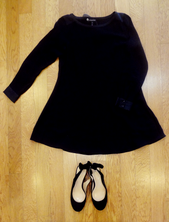Eileen Fisher Tunic - $49, Sole Society Heels $39 (Size 7)